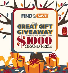 Play every day to Scratch & Win with the @findnsave #sweepstakes!