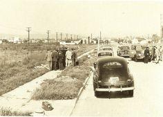 Elizabeth Short (The Black Dahlia) crime scene 1947