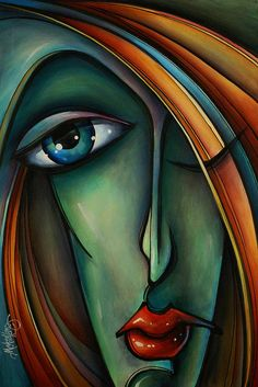 Figurative Print featuring the painting Untitled 5 by Michael Lang