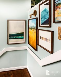 Art can totally transform a home and is worth investing in. Stretch your budget as far as you can by making your own DIY wood frames. This step-by-step tutorial will give you great ideas for displaying your favorite large art and pictures! Diy Furniture Projects, Diy Home Decor Projects, Home Improvement Projects, Crafty Projects, House Projects, Decor Ideas, Craft Ideas, Wood Picture Frames, Wood Frames