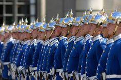Royal Palace Guardsmen in Stockholm, Sweden