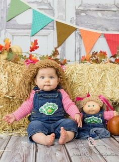cabbage patch doll 2015 halloween costume contest via costume_works - Cabbage Patch Halloween Costume For Baby