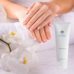 tired of dry hands? Your hands should look as great as your nails! Nu Skin, Whitening Fluoride Toothpaste, Hand Care, Beauty Magazine, Hand Lotion, Dry Hands, Body Lotions, Anti Aging Skin Care, Deodorant