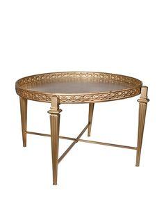 Donny Osmond Home Round Coffee Table, Gold, http://www.myhabit.com/redirect/ref=qd_sw_dp_pi_li?url=http%3A%2F%2Fwww.myhabit.com%2Fdp%2FB00WCIS1TA%3F