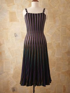 Absolutely gorgeous vintage Missoni dress on Free People website.  Wish I had $1000 to spend on a dress!