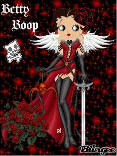 Betty boop cute goth pic