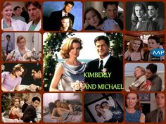 Kimberly & Michael Collage (Made by me). Hope you like it. Beverly Hills, Amanda, Melrose Place, Movie Couples, Green Day, Best Tv, Soaps, Spelling, Her Hair