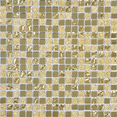 Gold Mirror Glass Tiles