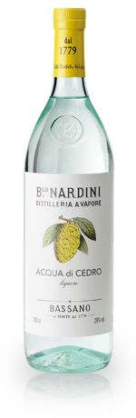 Acqua di Cedro Liqueur - the noble cousin to Limoncello