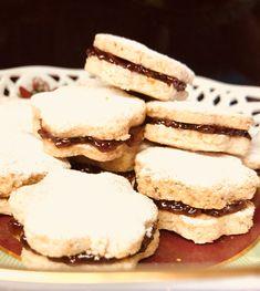 Μπισκότα χωρίς γλουτένη γεμιστά με μαρμελάδα! (& νηστίσιμα) Pancakes, Gluten Free, Cookies, Breakfast, Desserts, Food, Cooking Recipes, Cooking, Glutenfree