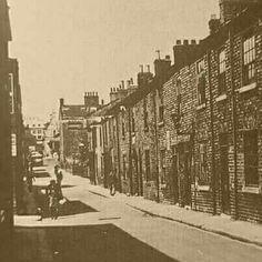 Bridge Street.these houses were demolished in 1935