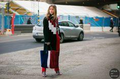 Stockholm Fall 2017 Street Style: Emili Sindlev