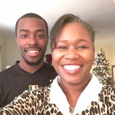 Hello Everybody. How's it going? I'm home with family and friends during Christmas holiday. This photo is of myself and my son Darrien Bailey. Innervoice Arts and Writing: http://innervoicerise.wix.com/innervoice