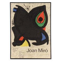 Femme devant l 39 toile filante joan miro 1974 joan miro pinterest dogs barking and joan miro - Poster muurschildering paysage ...