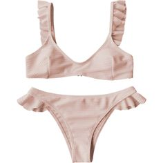 Solid & Striped - Maillot De Bain Tie & Dye The Nina - Rose pastel