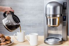Start your day with a cup of freshly brewed pour over coffee. See how @jellytoastboard uses the KitchenAid® Custom Pour Over Coffee Brewer and Burr Grinder on our blog.