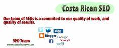 Costa Rica SEO Team, Costa Rica SEM Expert. SEO Experts and Social media..