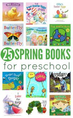 spring books for preschool