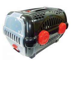 A Caixa de Transporte Furacão Pet Luxo - Preto com Vermelho, é um novo conceito em caixa de transportes para animais, pois não usa parafusos, fácil de montar e pratica de lavar. Mais praticidade para você e mais conforto para seu melhor amigo.