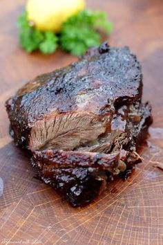 Ochsenbäckchen aus dem Dutch Oven – Flavoured with Love Beef Fajita Marinade, Steak Fajita Recipe, Homemade Fajita Seasoning, Beef Fajitas, Cuban Recipes, Steak Recipes, Dinner Recipes, Barbacoa, Steak In Oven
