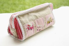 Pink Heather Ross Sew Together Bag by Erin @ Why Not Sew? Quilts, via Flickr