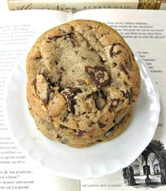Cinnamon & Brown Butter Chocolate Chip Cookies