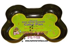 Great for puppy parties or human parties! Puppy Party Supplies, Shaped Cake Pans, Sheet Cake Pan, Puppy Cake, Party Places, Cookie Cutters, Puppies, Shapes, Dogs