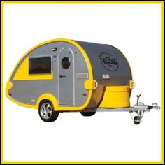 A teardrop trailer, also known as a teardrop camper trailer, is a streamlined, compact and lightweight travel trailer.