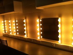 Fazer régua de luz e colar espelho.