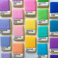 Arco iris-coloreado Cookies Arte - Fubiz Medios