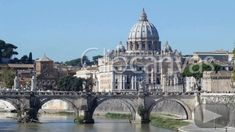 The largest church in Europe can be found in Vatican City: St. Peter's Basilica: originally constructed in 326 and 333 AD The church is also the burial site of the first Pope, Apostle St. Peter, and it's considered the center of the Roman Catholic world. Vatican Tours, Vatican City, Small Group Tours, Small Groups, Rome Travel, Rome Italy, Roman Catholic, Stock Footage, Taj Mahal