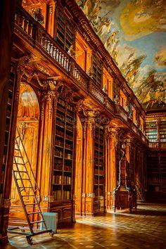 Strahovska Knihovna Strahov Library, Prague, Czech Republic