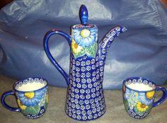 W R Unikat Tea Pot Mugs and Bowl | eBay