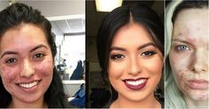 The Most Shocking Makeup Transformations Makeup Tips, Hair Makeup, Makeup Transformation, Funny Photos, Fun Facts, Cool Pictures, Hobbies, Chic, Board