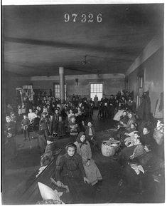 Title: Recently arrived persons at Ellis Island, N.Y. 1907, Call Number: SSF - Emigration and Immigration -- Ellis Island, N.Y. -- 1907 [item] [P]