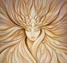 Goddess of Transformation by Jennifer Lester #goddess #painting #art #pagan