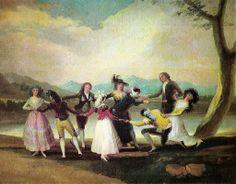 Francisco de Goya, La Gallina ciega (La Poule aveugle),1788. Madrid, musée du Prado.