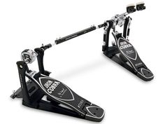 Iron Cobra double bass pedal. Such smooth motion and the reason i crave playing every day.