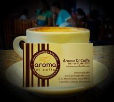 Despierta tus sentidos  con el mejor café  y vive un momento especial.  #AromaDiCaffé Conócenos en el C.C. Metrocenter pasaje colonial. #AromaDiCaffê #MomentosAroma #SaboresAroma #Latte #Espresso #Caracas #Café #QuieroUnCafé #BuscandoElCafé #Coffee #CoffeeLovers #CoffeeMoments #CoffeeBreak #CoffeeTime #InstaMoments #InstaCoffee