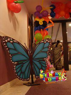 Butterfly Pillar