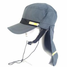 ROXY Women's Plain Gray Outdoor Hiking Camping Military Sun Hat with Neck Cover  #ROXY #CadetMilitary #HikingCampingFishing