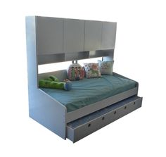 Mandy King Single Trundle bed with Cupboards AUSTRALIA WIDE DELIVERY!