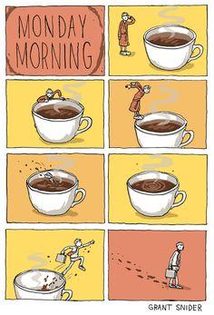 INCIDENTAL COMICS: Monday Morning