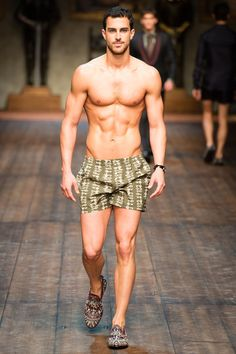 He's walking straight into my bed. My kind of pyjamas. #DolceGabbana #Winter 2015 #Menswear #Collection