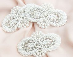 pearl appliques – Etsy