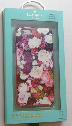 New iPhone 6 & 6s Kate Spade Hybrid Hardshell Photographic Roses Case  | eBay