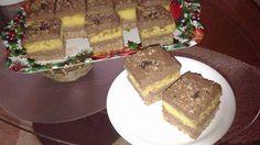 Prăjitură pandispan cu nucă si cremă de mac Fondant, French Toast, Mac, Cooking, Breakfast, Food, Sweets, Romanian Food, Kitchen