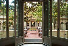 La terraza jardín secreta del restaurante el Principal abre las puertas al público