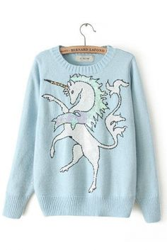 unicorn jumper :)