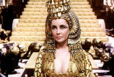 4. Cleopatra In our young age she was pretty much the only Egyptian celeb that we knew, besides the Pharaoh who wouldn't let Moses' people go. She was in a long distance, complicated and steamy love triangle with original pros Caesar and Marc Antony. She was the most stylish woman in the ancient world, the godmother of bling, the originator of the smokey-eye, rocking a perfect tan and skinnier than any other African.